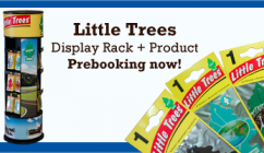 New! Little Trees Car Freshener Rack