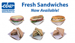 Fresh Sandwiches Now Available!