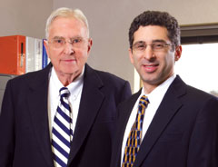 Burton Margolis, Emeritus and Barry Margolis, President
